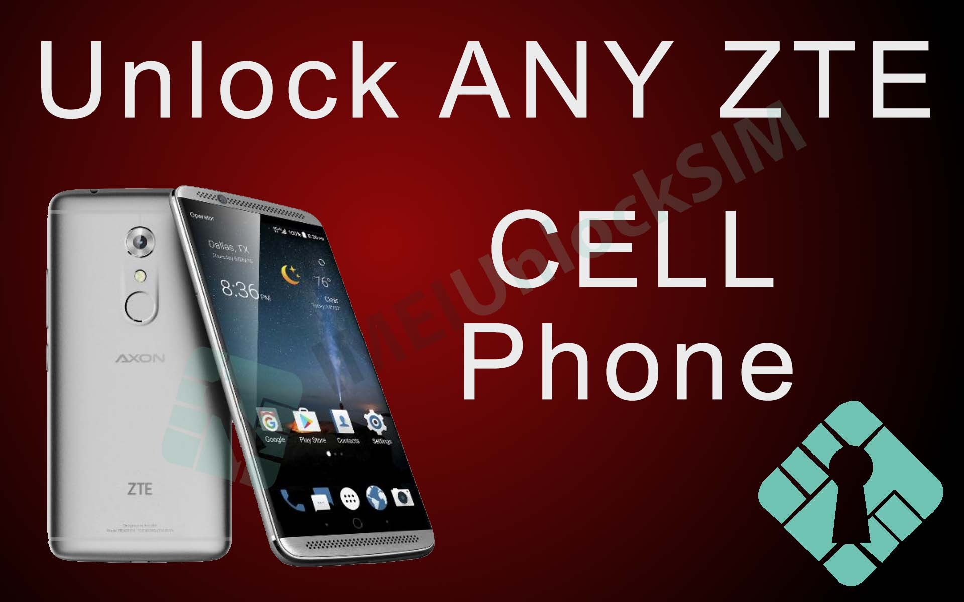 Unlock ZTE Cell Phone by IMEI Code on ANY Carrier Network