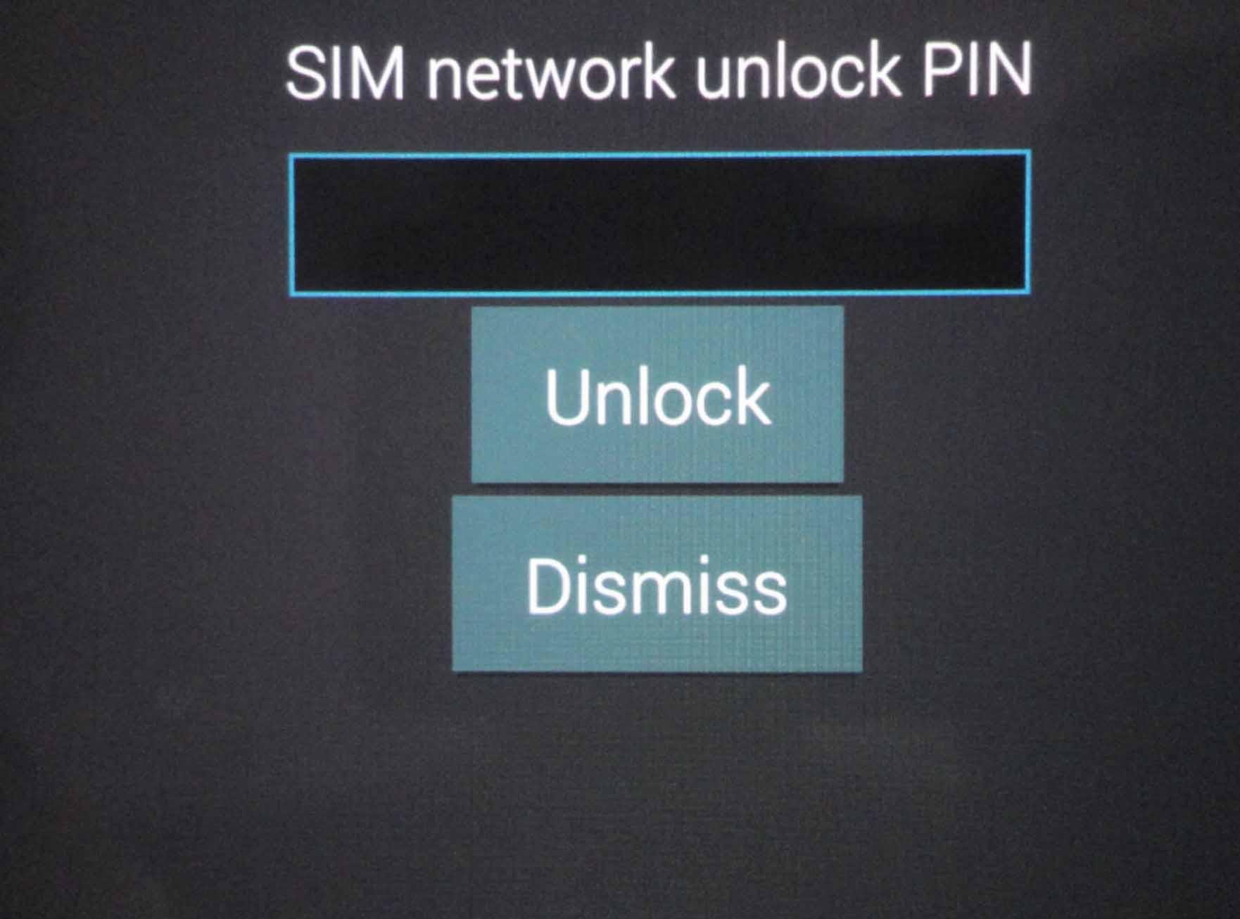 Sim Network Unlock pin for Samsung